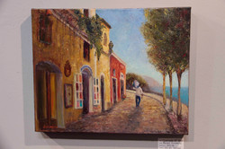 Evening stroll in Positano
