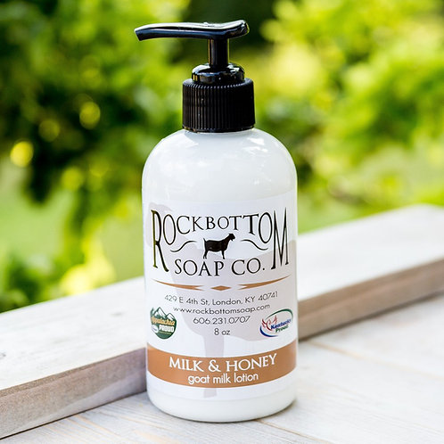 Rock Bottom Soap Goat Milk Lotion