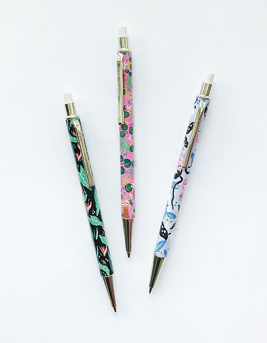 Bright Floral Mechanical Pencils