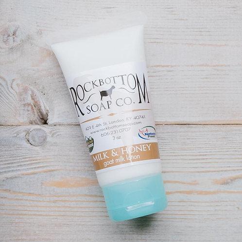 Rock Bottom Soap Goat Milk Lotion