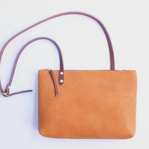 May Shoulder Bag in Sienna