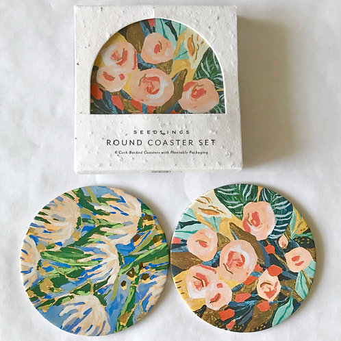 Pretty coasters to protect your tabletop.