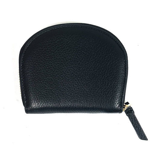 Mae Accordion Wallet in Black