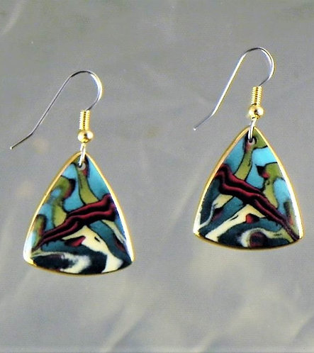 Rainforest Dangle Earring