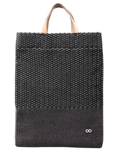 Crosshatch Mini Market Bag