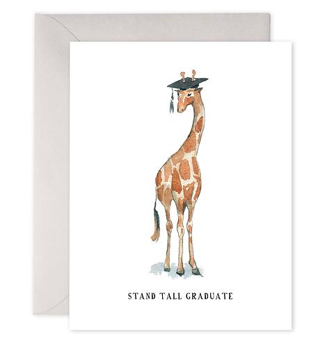 Stand Tall Graduate Card