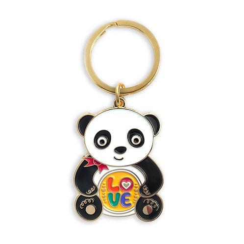 Love Panda Keychain