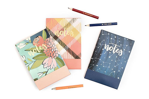 Creekside Notepads and Pencil Set