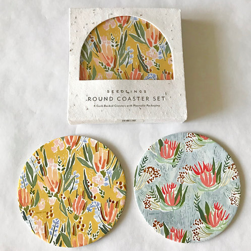 Pretty coasters to protect your table top.