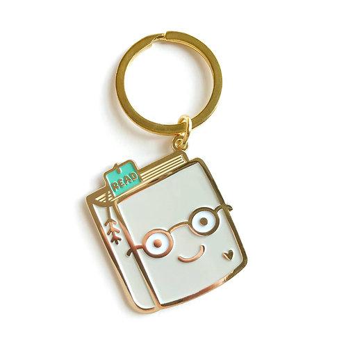 Book Lover Keychain