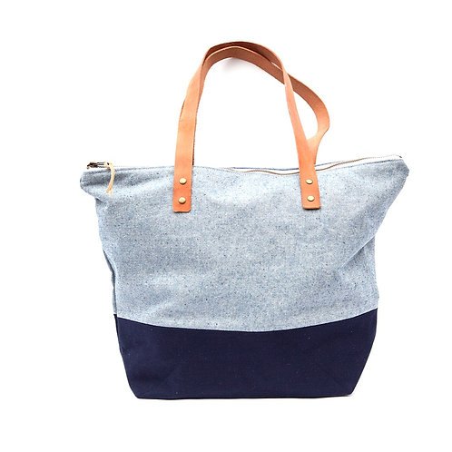 Denim + Canvas Tote