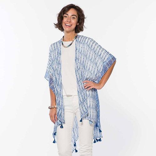 Shani Blue Kimono