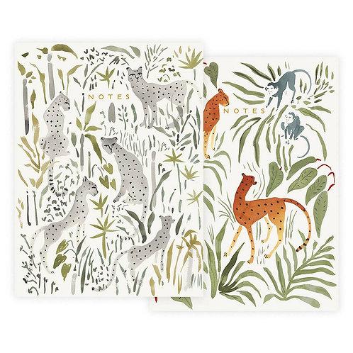 Wild Cats Notebook Set