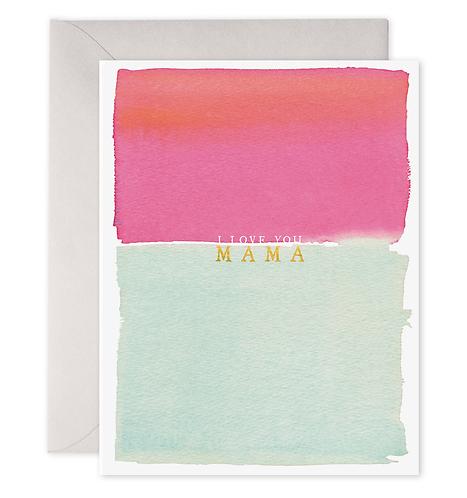 Love You Mama Card