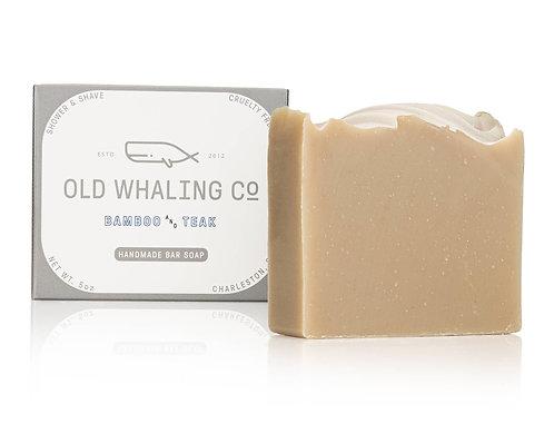 Bamboo + Teak Bar Soap