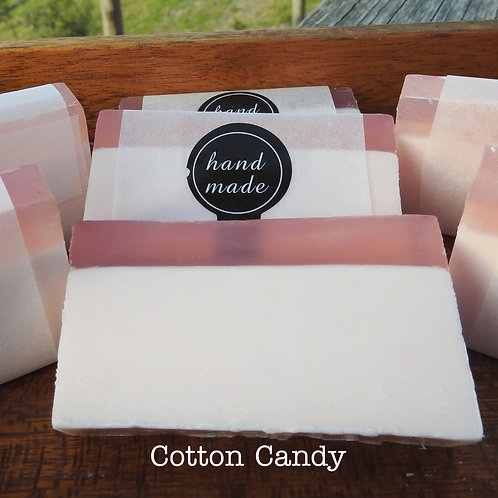 Cotton Candy Luxury Soap - Handmade