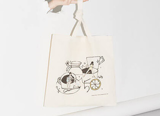パルコ50周年記念、12組の描き下ろし用いたバッグをプレゼント