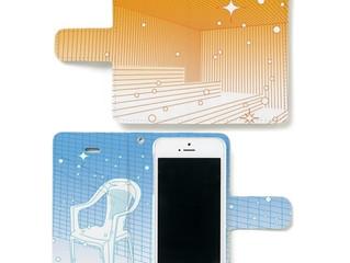 内側に「ととのい椅子」がデザインされた新作サウナ室柄iPhoneケースです
