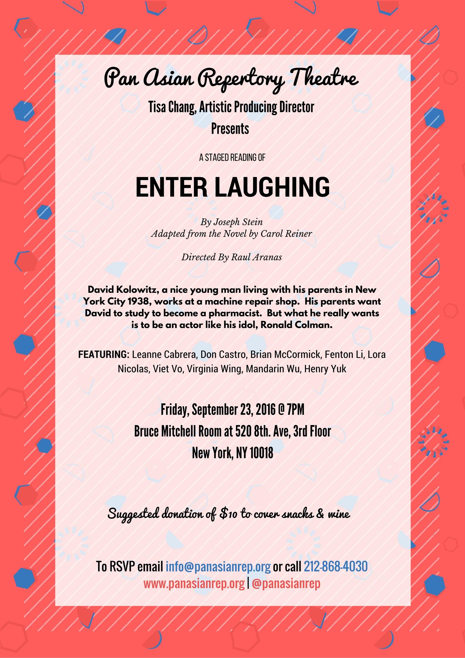 Enter Laughing Reading