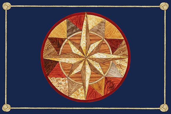 """""""Compass Rose"""" © Rectangular Placemats"""