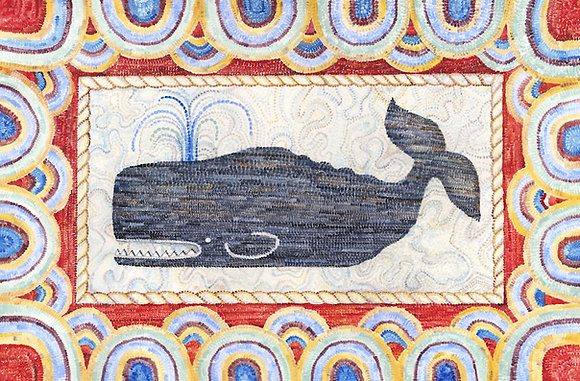 """""""Whale"""" © Rectangular Placemat"""