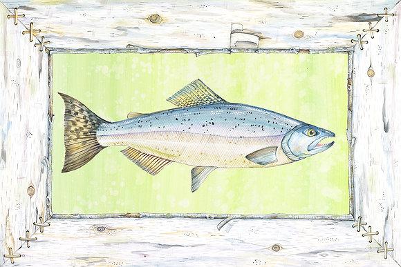 """""""Salmon"""" © Floor Mat"""