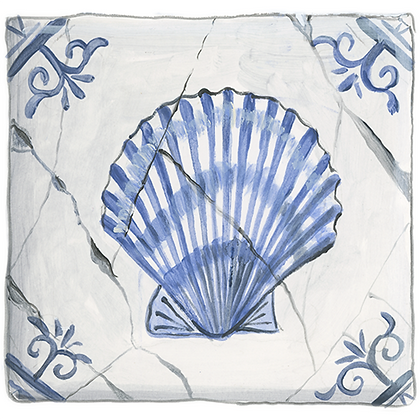 """Scallop""© Coaster (set of 2)"