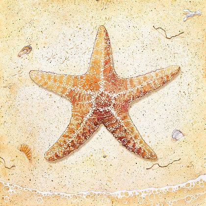 """Starfish"" © Square Glass Cutting Board"