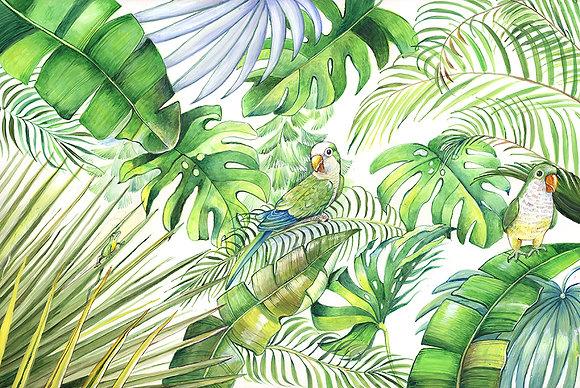 """""""Parrots"""" © Floor Mat"""