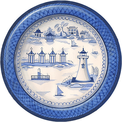 """Coastal Canton"" © Round Placemat"