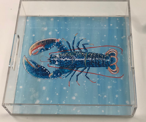 """Lobster"" © Lucite Tray"