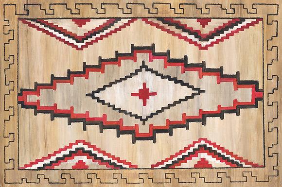 """Navaho"" © Floor Mat"