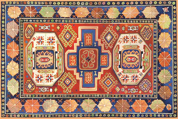 """""""Kazak"""" © Floor Mat"""