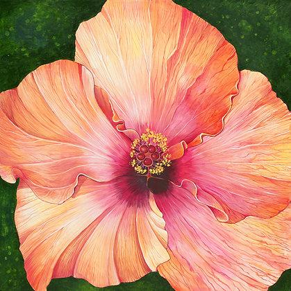 """""""Hibiscus"""" © Square Placemat"""