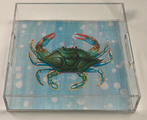 """Crab"" © Lucite Tray"