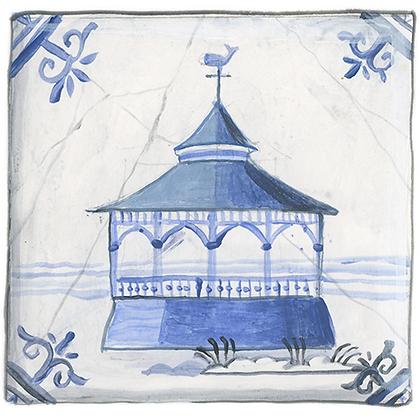 """Delft"" © Gazebo Coaster (set of 2)"