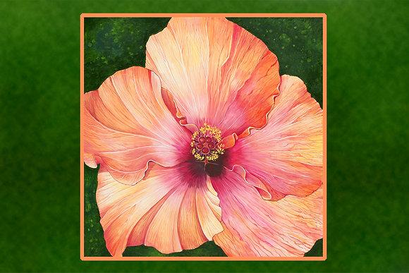 """""""Hibiscus"""" © Floor Mat"""