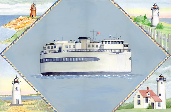 """Islander"" © Rectangular Placemat"