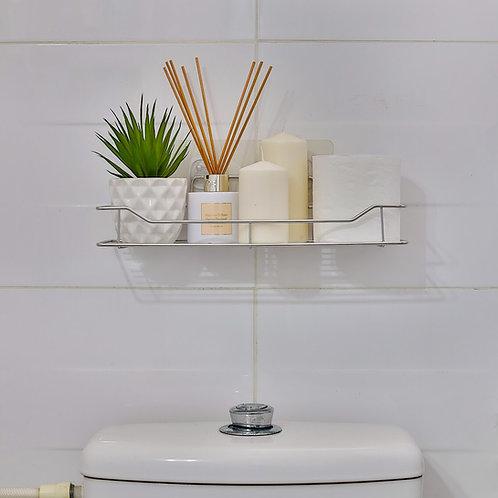 מדף קלאסי ללא קידוח לאמבטיה