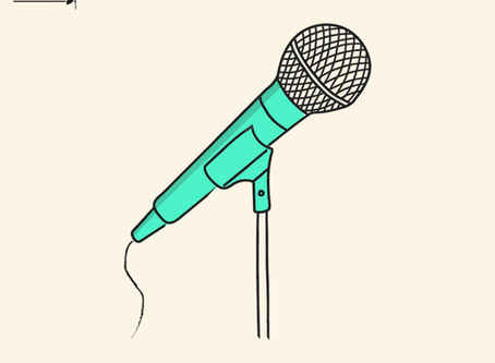 You need more than a microphone to be heard