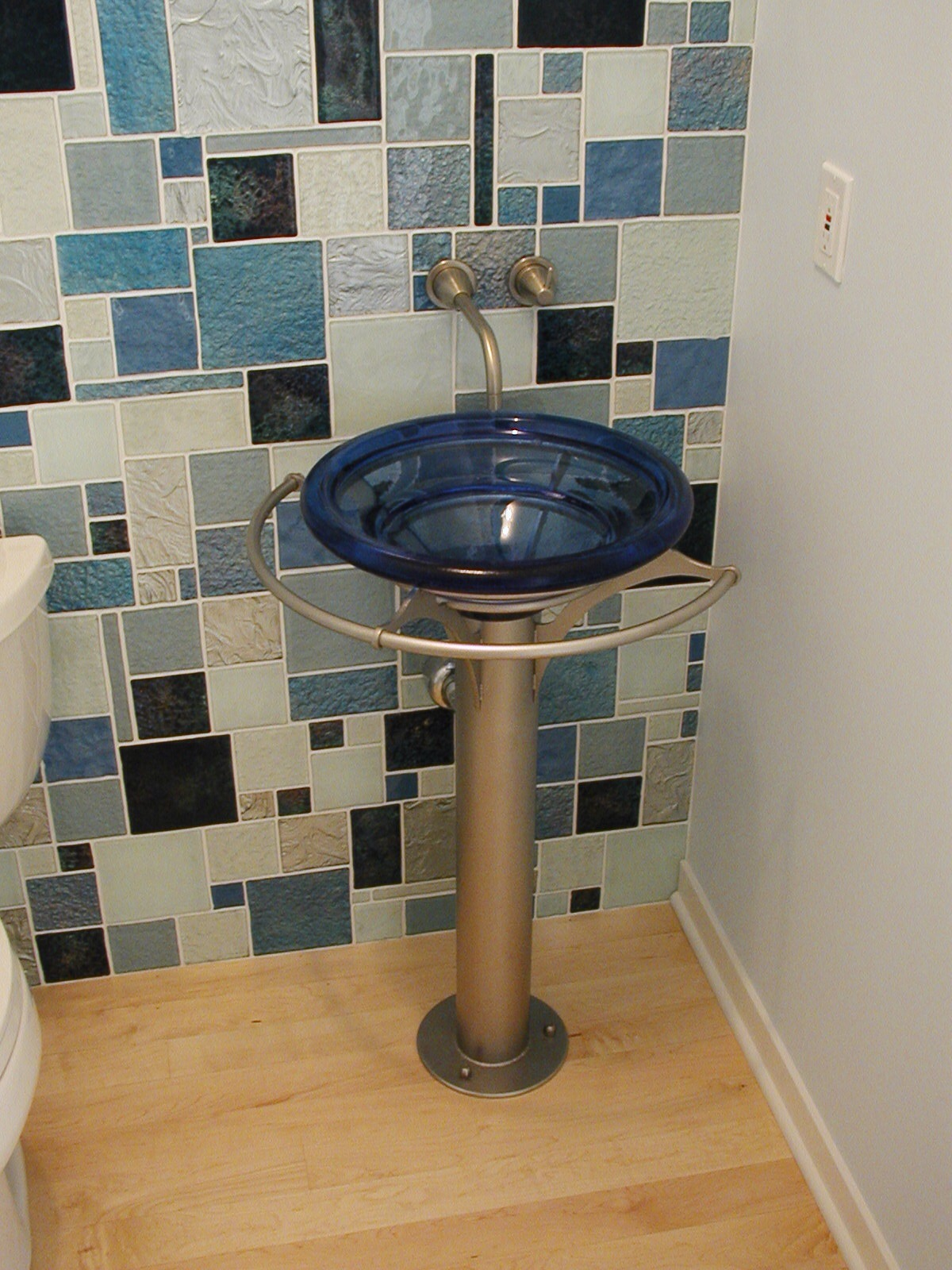 Pedestal Sink Base