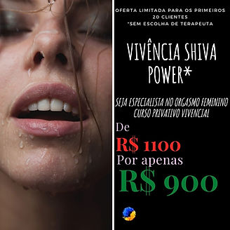 PROMOÇÃO SHIVA POWER CONEXÃO DO TANTRA.j