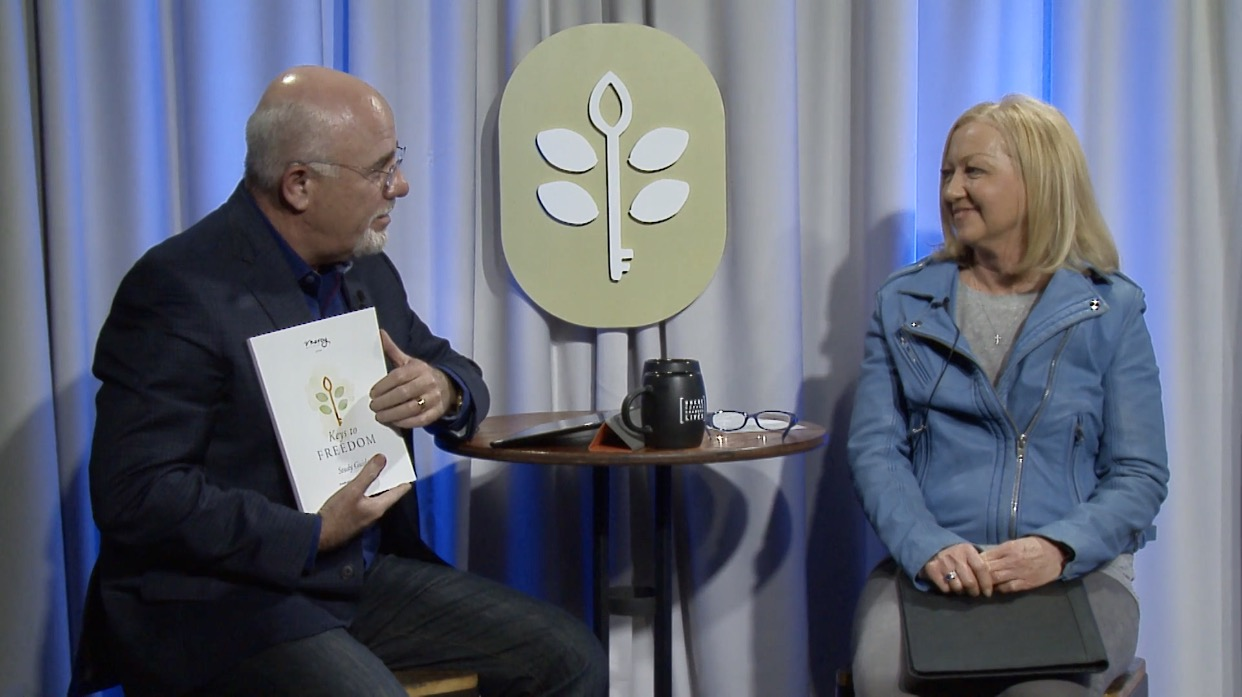 Dave Ramsey and Nancy Alcorn