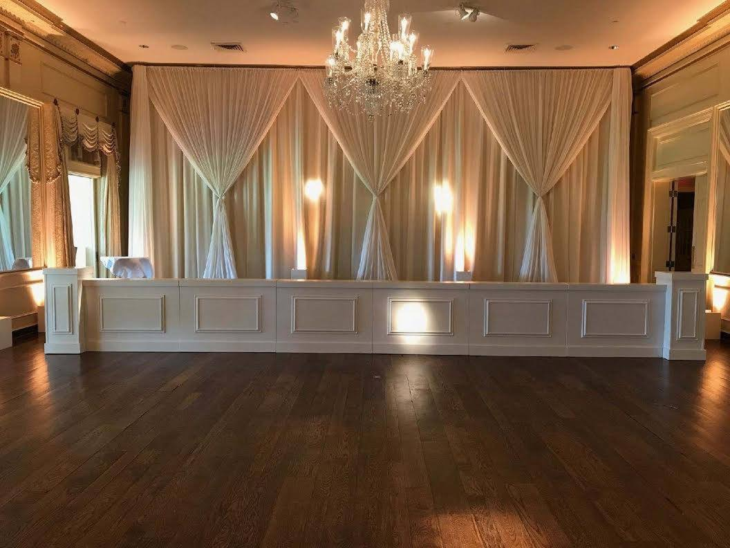 Belle Meade Country Club Ballroom Drape
