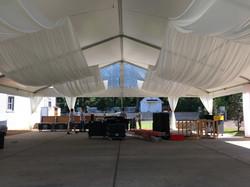 Belle Meade Plantation tent drape