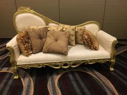 Events Plus stage sofa