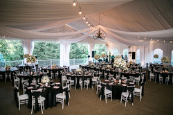 Riverwood Mansion white drape in pavilion Steele 2016