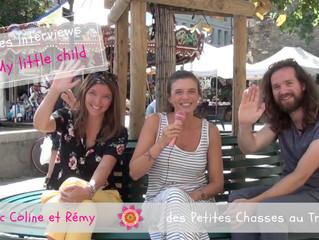 """Interview My little child avec Coline et Rémy, du blog """"Les Petites Chasses au Trésor"""""""