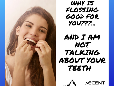 Neck Pain: Why is Flossing Good for You?...And I Am Not Talking About Your Teeth...