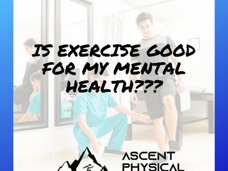 Is Exercise Good For My Mental Health?